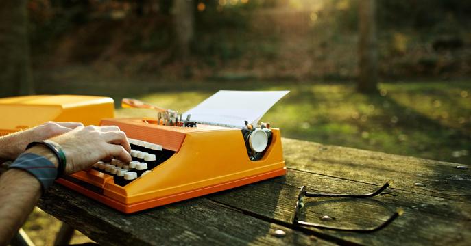 daktilo ve yazı