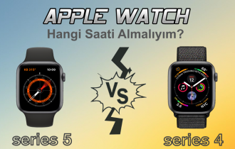 Apple Watch Series 5 ve Series 4 Karşılaştırmalı İnceleme