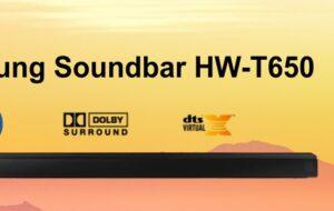 Samsung HW-T650 Soundbar İnceleme ve Ses Testi